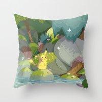 Pikachu Throw Pillow