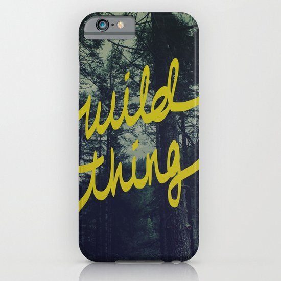 Wild Thing iPhone & iPod Case