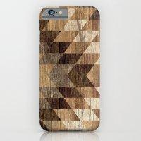 Wood Grain Tribal Geomet… iPhone 6 Slim Case