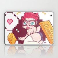 Babes & Videogames  Laptop & iPad Skin