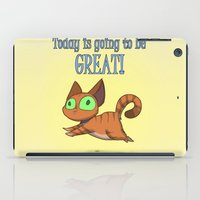 Optimistic Cat iPad Case