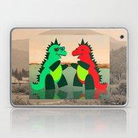 Dino Party at Sea Laptop & iPad Skin