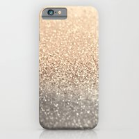 iPhone Cases featuring  GOLD by Monika Strigel