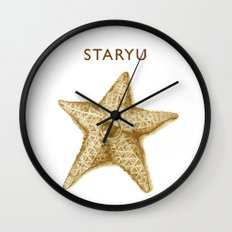Sandy Staryu Wall Clock