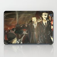 Except Us - Anonymous iPad Case