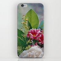 Pink Bouquet iPhone & iPod Skin