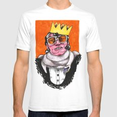 King Choker Mens Fitted Tee White SMALL