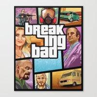 Breaking Bad: GTA  Canvas Print