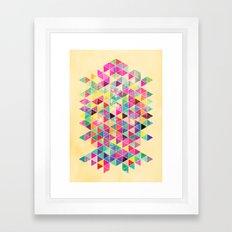 Kick of Freshness Framed Art Print