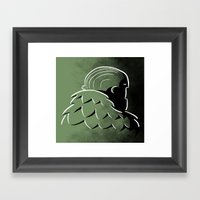 Bird Man Framed Art Print
