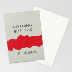 Nothing But The Blood Stationery Cards