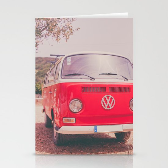 Red Ride Stationery Card