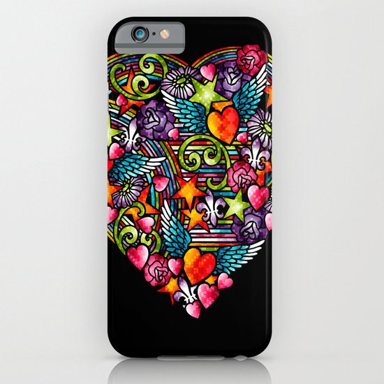 my heart has wings iPhone & iPod Case