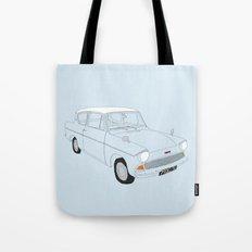 Weasley's Flying Ford Anglia Tote Bag