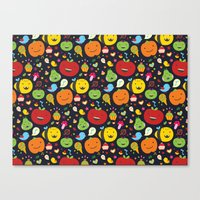 Fruticas pattern Canvas Print