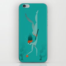 Ama (diving) iPhone & iPod Skin