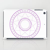Anime Magic Circle 7 iPad Case