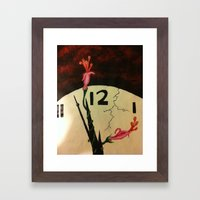 The Persistence of Abstraction Framed Art Print