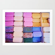 Wash Your Eyes Out With Soap Art Print