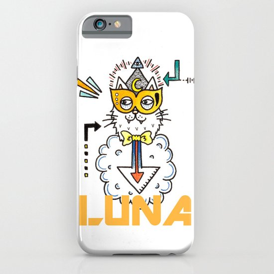 Space Cat iPhone & iPod Case