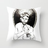 what's your problem? Throw Pillow
