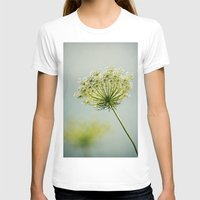 The Lady's Lace Womens Fitted Tee White SMALL