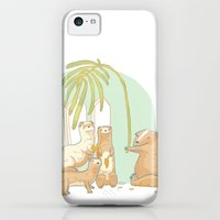 iPhone 5c Cases featuring Plants by mazedoodle