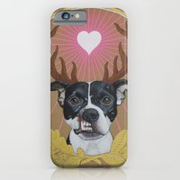 iPhone & iPod Case featuring Jaggermeister - pitbull by PaperTigress