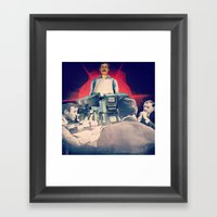 The Initiation Of Operat… Framed Art Print