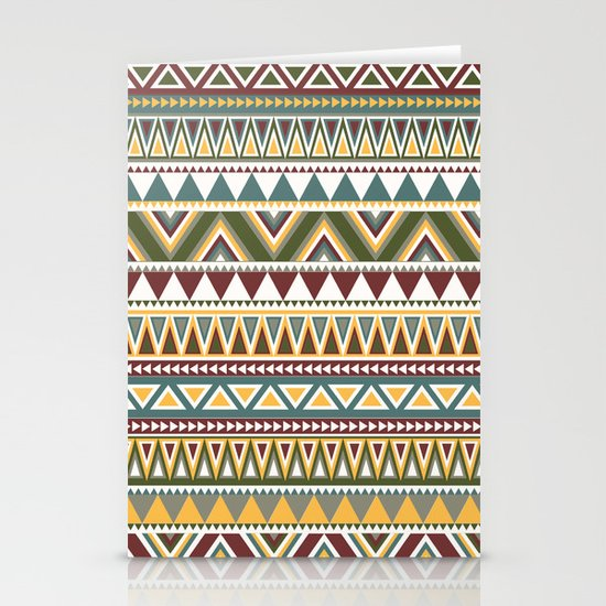 Aztec Stationery Card