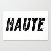 Haute - High Fashion Canvas Print