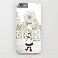 iPhone & iPod Case featuring I {❤} Umbrella by lilycious