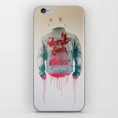 dont fuck wtf iPhone & iPod Skin