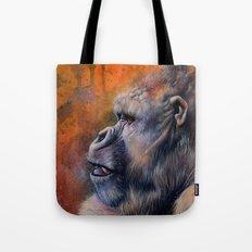 Gorilla: The Portrait of a Stolen Voice Tote Bag