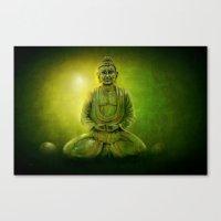 Happy Buddha 1 Canvas Print