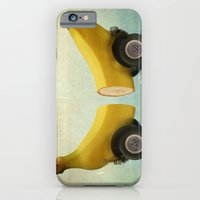 iPhone & iPod Case featuring Banana Splitmobile by vin zzep