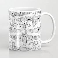 Spitfire Mk. XIV (black) Mug