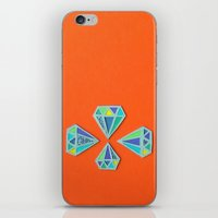 Diamonds Papercut iPhone & iPod Skin