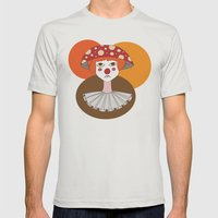 Sad clown Mens Fitted Tee Silver SMALL