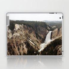 YELLOWSTONE WATERFALLSS Laptop & iPad Skin