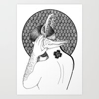 Rubén Rodriguez  Art Print