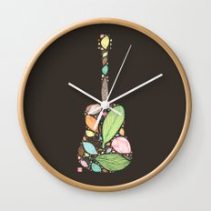 Let your Guitar Sing B-Side Wall Clock