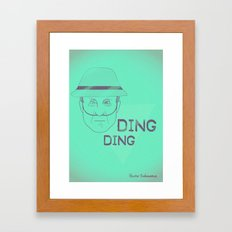 Breaking Bad - Faces - Hector Salamanca Framed Art Print