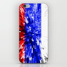 Russia Flag - Extrude iPhone & iPod Skin