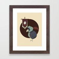 Warrior Bird Framed Art Print