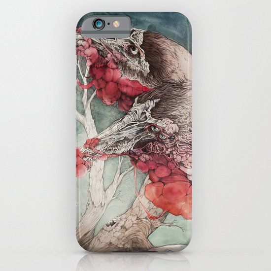 """""""Insatiable"""", as a print iPhone & iPod Case"""