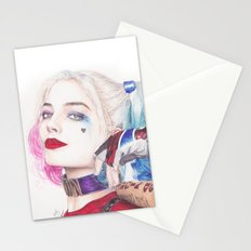HARLEY BEAUTIFUL CRAZY QUINN! Stationery Cards