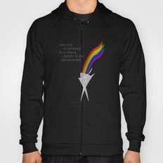 You are a rainbow in a cloud, ready to be discovered! Hoody