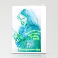 Brightest Witch Of Her A… Stationery Cards