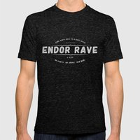 Endor Rave Mens Fitted Tee Tri-Black SMALL